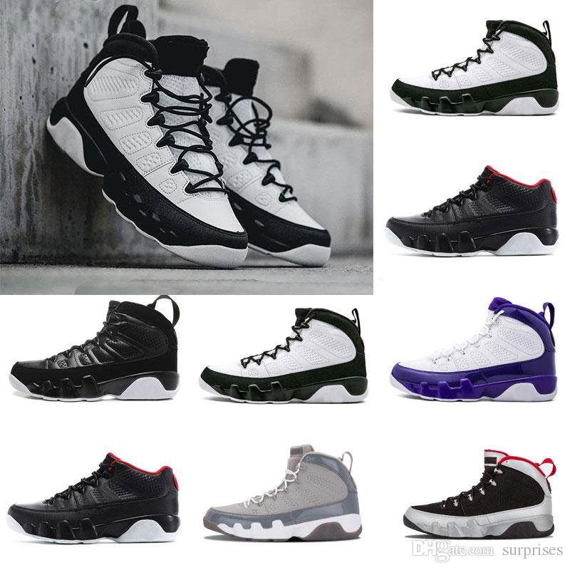bff16db406735a 2018 9 9s Men Basketball Shoes OG Space Tour Yellow PE Anthracite The Spirit  Johnny Kilroy 2010 Release Sports Shoes Sneaker 8 13 East Bay Shoes Shoes  ...