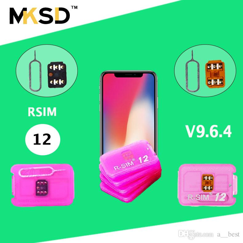V9 6 4 R sim 12 unlock for ios11 3 rsim12 rsim sim12 ios 11 ICCID Unlocking  for iPhoneX,iphone 8,8PLUS 7,7plus 6s 6 GPLTE 4g+