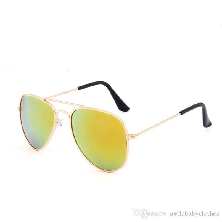 New Style Crianças Sunglass Crianças Praia Suprimentos Óculos De Sol Das Crianças Da Moda Meninos Do Bebê e Meninas Acessórios Hot Sales