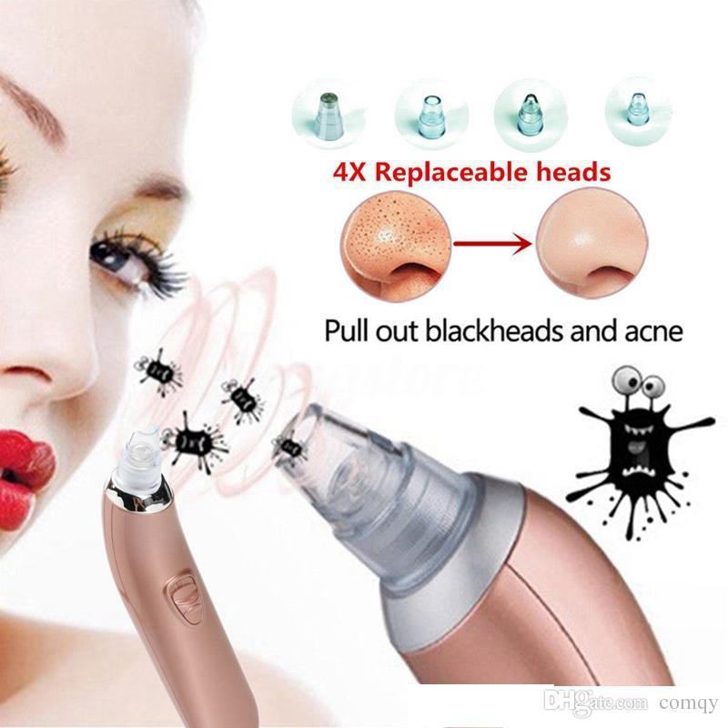 Elétrica Cosmética Facial Acne Pore Cleaner Cravo Removedor de Maquiagem Portátil Pele Massager Equipamentos de Beleza Frete Grátis