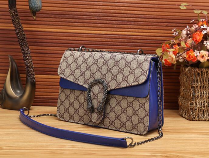 2c35d8f1e2 2018 Women s Plaid Chain Bag Ladies Luxury High Quality Handbag ...