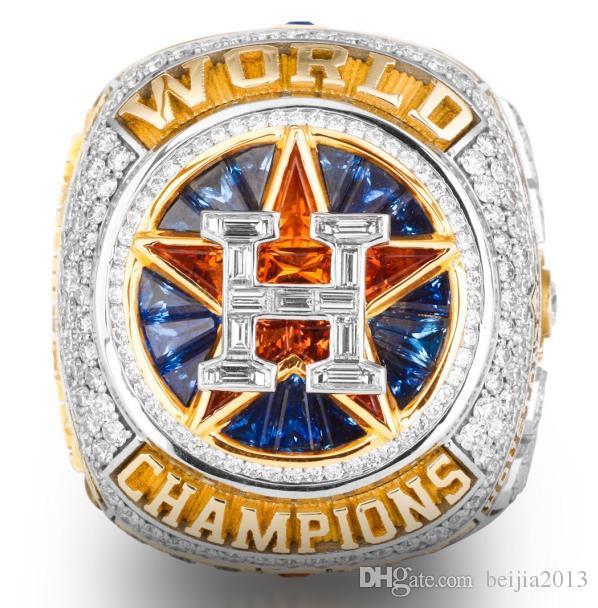 Neueste Championship Series schmuck 2017 2018 Houston Astros Baseball Weltmeisterschaft Ring Altuve Springer Fan Geschenk großhandel benutzerdefinierte