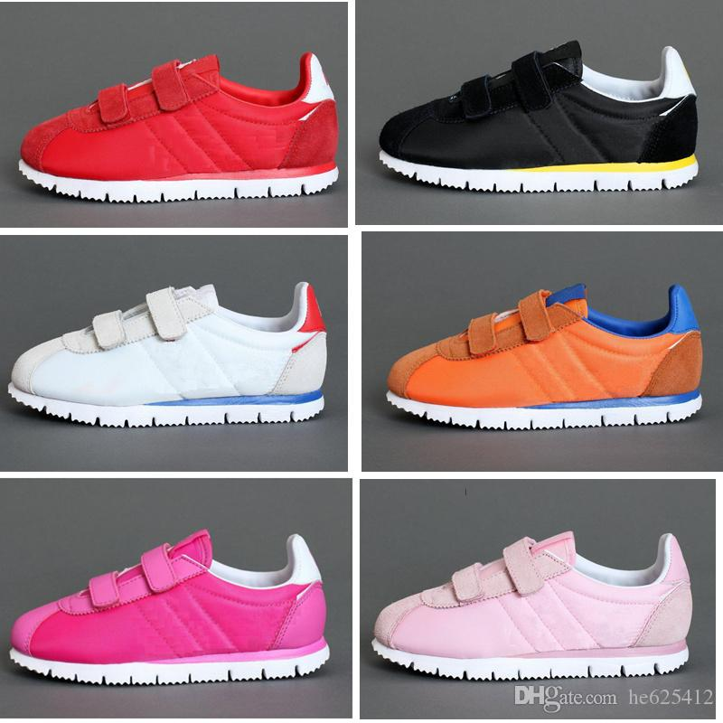 new product 01a47 f9212 Infant Children Cortez running shoes Kids outdoor Sports trainers toddler  athletic boy & girl sneakers With BOX Sports shoes