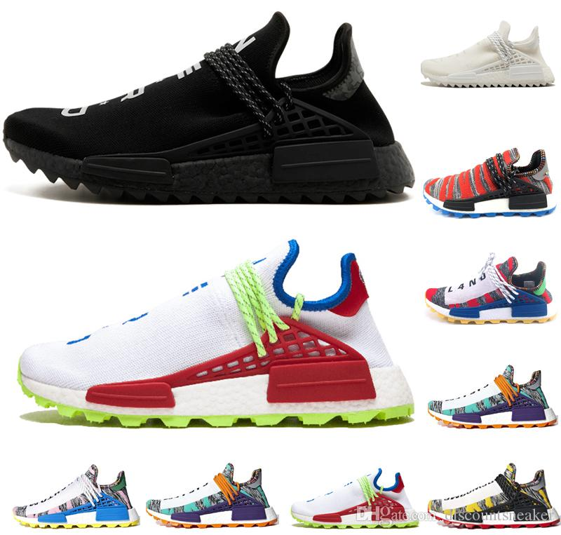 66c0188142bcc New Human Race Solar Pack Afro Hu Mens Women Shoes Holi NERD Pale ...