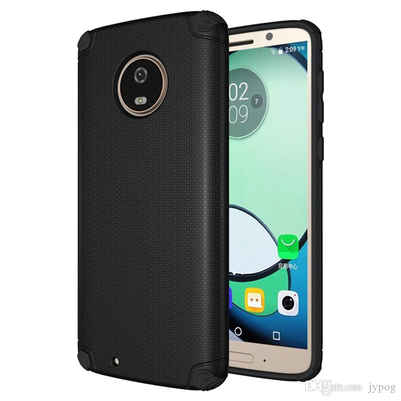 For MOTO G6 G6Plus Case 2in1 High Impact Heavy Duty Hard Rugged Rubber Case Cover for MOTO G6 G6Plus