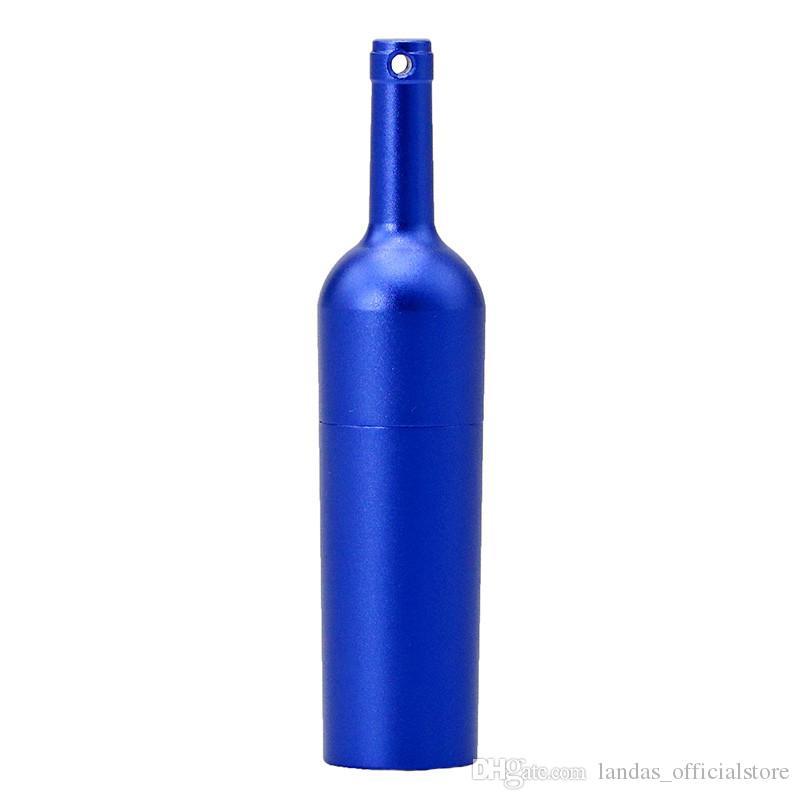 Metal Matte Red Wine Bottles 8GB 16GB 32GB 64GB Usb 2.0 Memory Stick U Disk Pen Drive Pendrive Usb Flash Drive