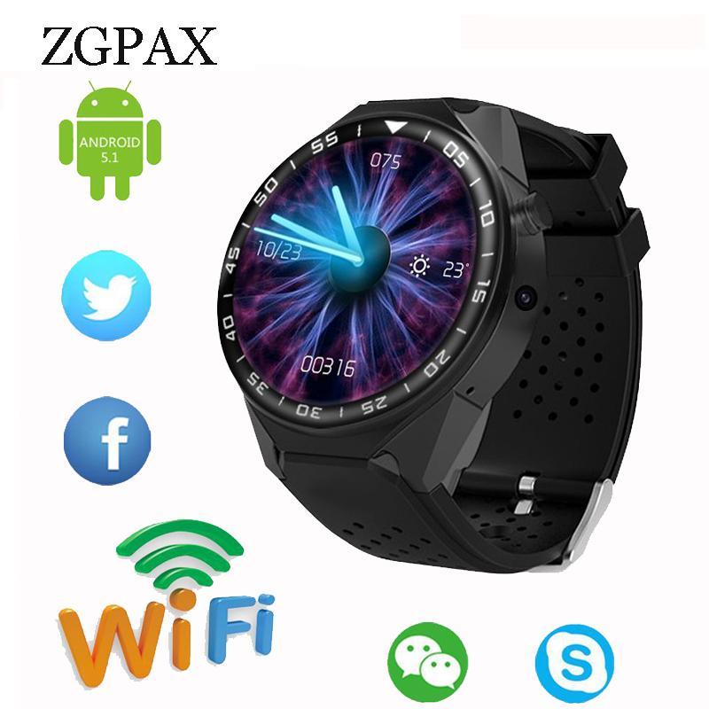 7c357c839f2 Compre Para Android 5.1 Bluetooth Smart Watch Para Engrenagem S3 Com Câmera  De 2mp 3g Wifi Wifi Gps Monitor De Freqüência Cardíaca De Playgema