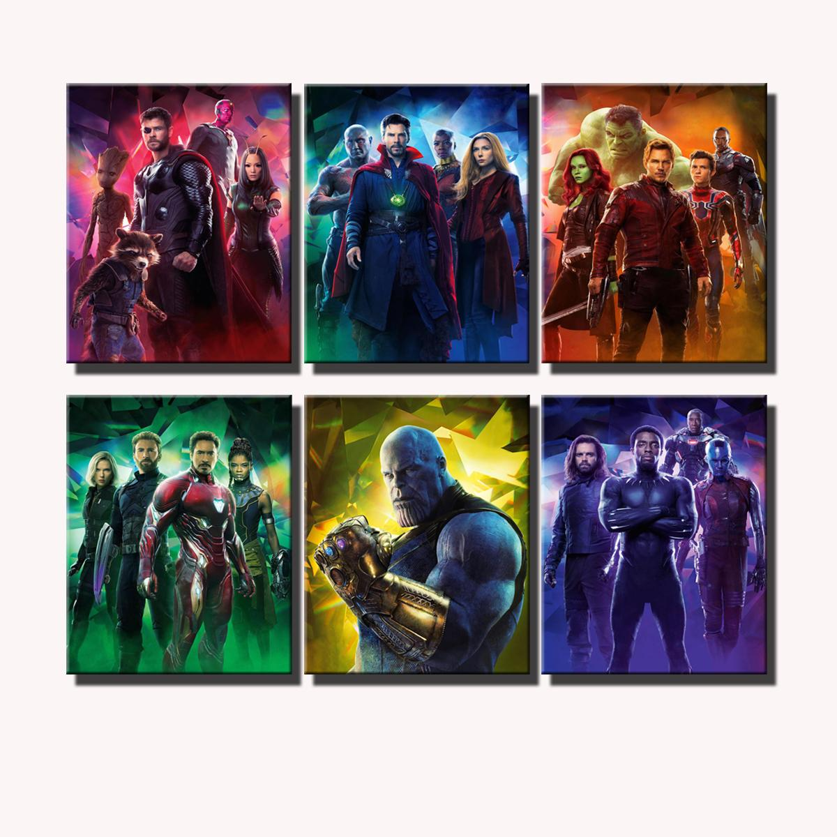 2019 Avengers Infinity War Poster 1,Home Decor HD Printed
