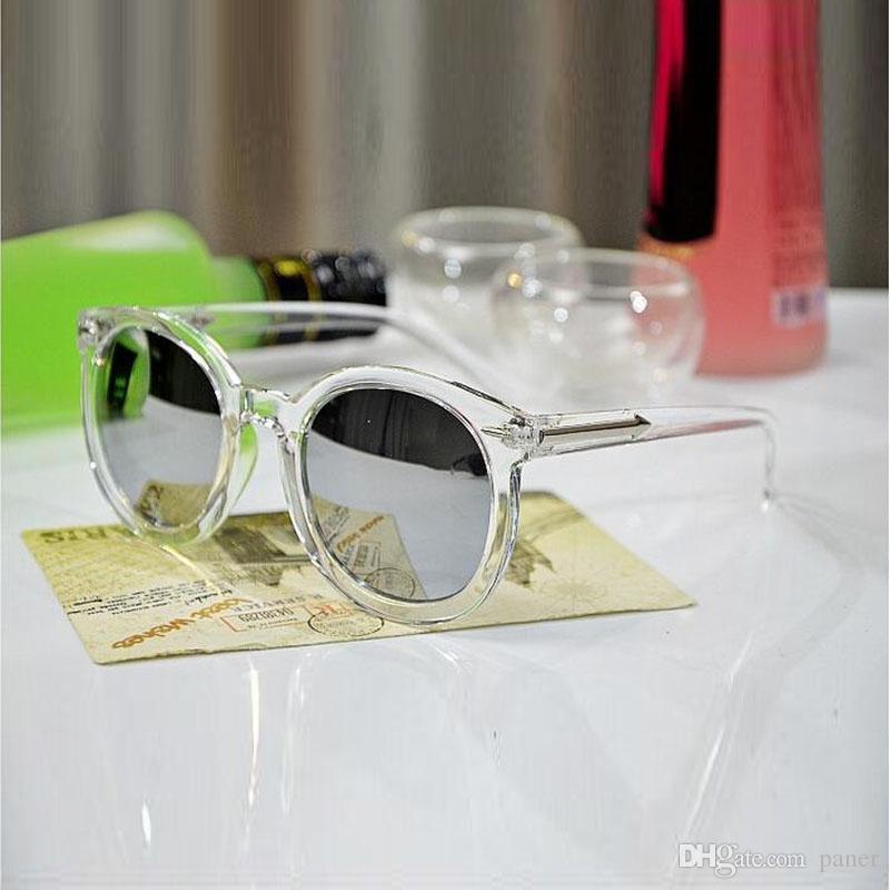 Compre Gafas De Sol Femeninas Estrella Estilo Color Película Gafas ...