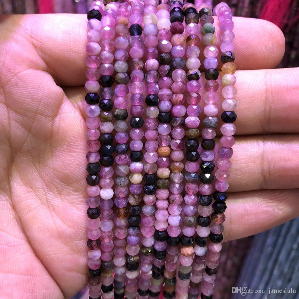 Free Shipping 6 8 10mm Natural Stone Beads Bracelet Round Bosi Stone Purple Color For Jewelry Making Jewelry & Accessories
