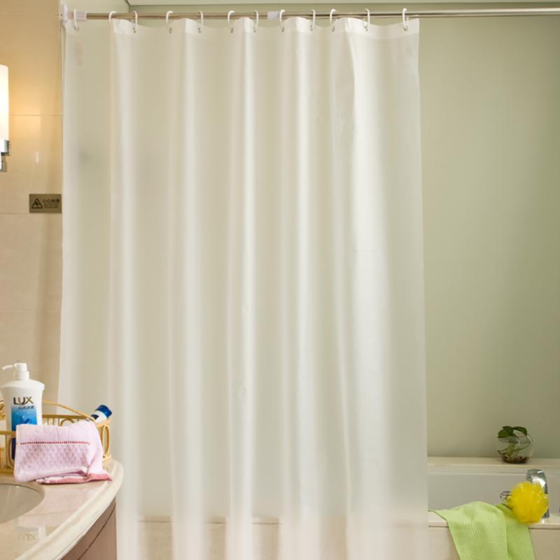 Großhandel Einfarbige Badezimmer Duschvorhang Shading Wasserdicht ...