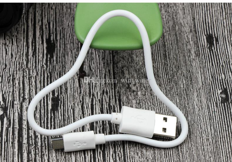 USB 20cm Short Noodle USB charging cable No Data Sync Cable Line For samsung S3 S4 i9100 i9300 Power Bank