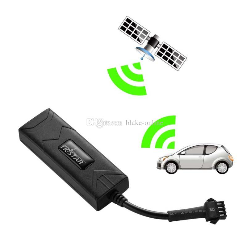 Mini Car GPS Tracker Motorcycle GSM Locator TK806 Realtime ACC Alert DC10V-80V Remotely Cut Engine With Free Tracking Platform