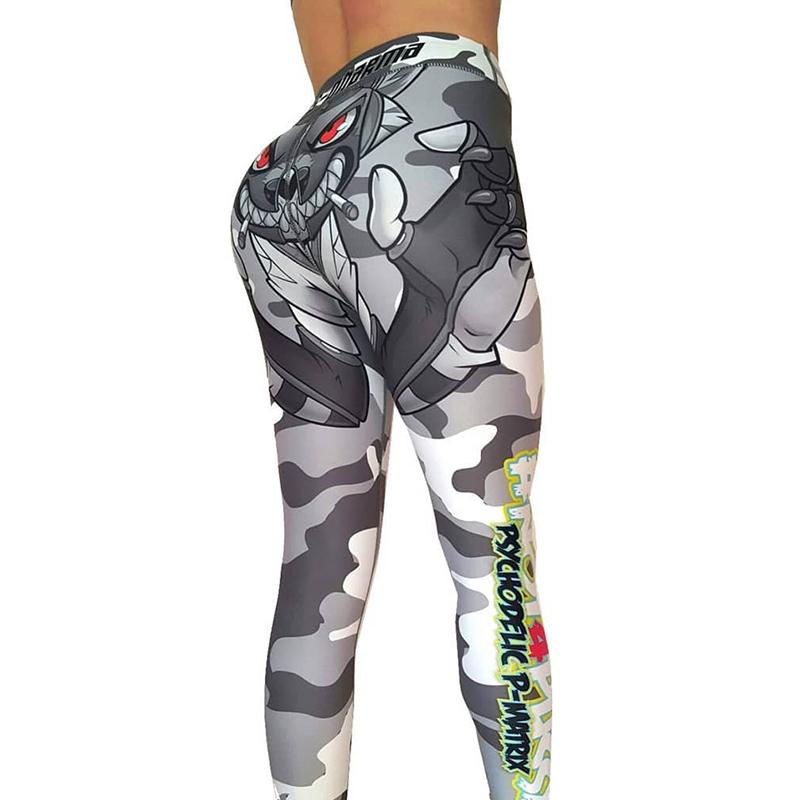 af4fc3837f6b7 S-3XL Women Camouflage Printed Leggings Plus Size Christmas Leggings High  Waist Fitness Clothing Femme Online with $32.51/Piece on Wanglon08's Store  ...