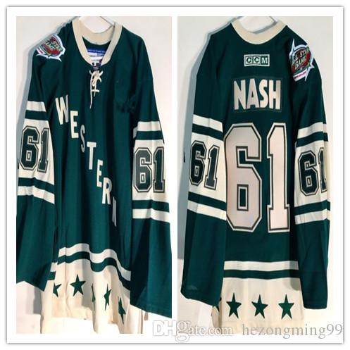 7d1514143 2018 All Star Western 61 Rick Nash Hockey Jersey Embroidery Stitched  Customize Any Number And Name College Jerseys From Hezongming99