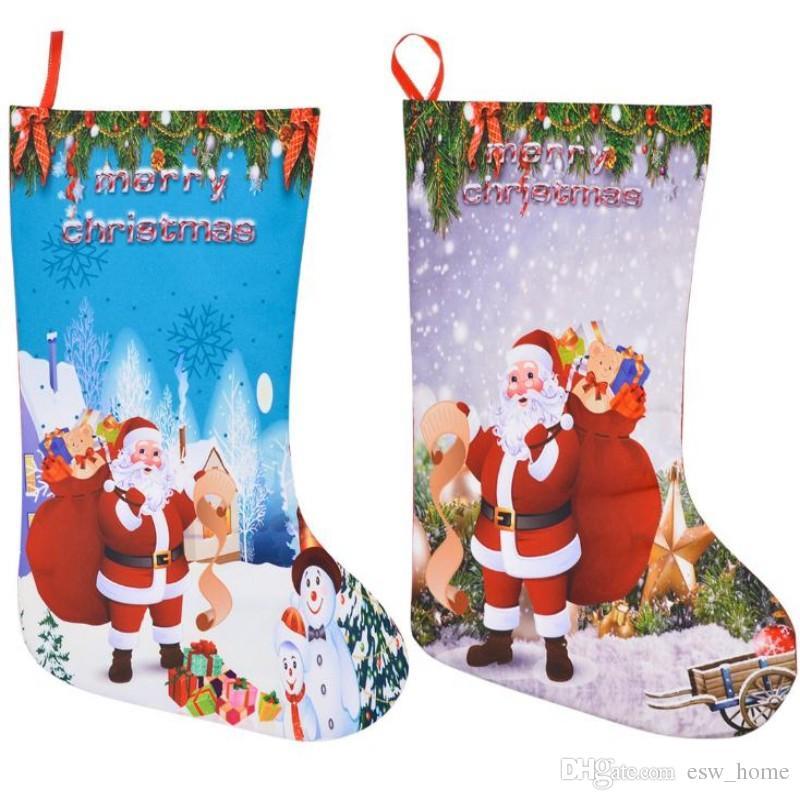 Großhandel Weihnachtsstrumpf Geschenk Taschen Filz Tuch ...