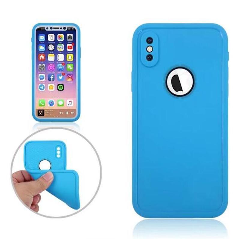 Shockproof Dustproof Underwater Diving Waterproof Cases Cover waterproof case Shell Outdoor case for iphone X 6G 7G PLUS 5G Samsung S9 PLUS