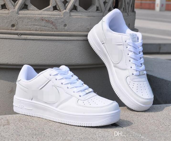 2018 Air Force One 1 Men/Women Sports Skate Board Shoes Classic Sneakers Shoes Eur Size 36 44 Tennis Shoes Toddler Boys Sneakers From Zljian8866, ...
