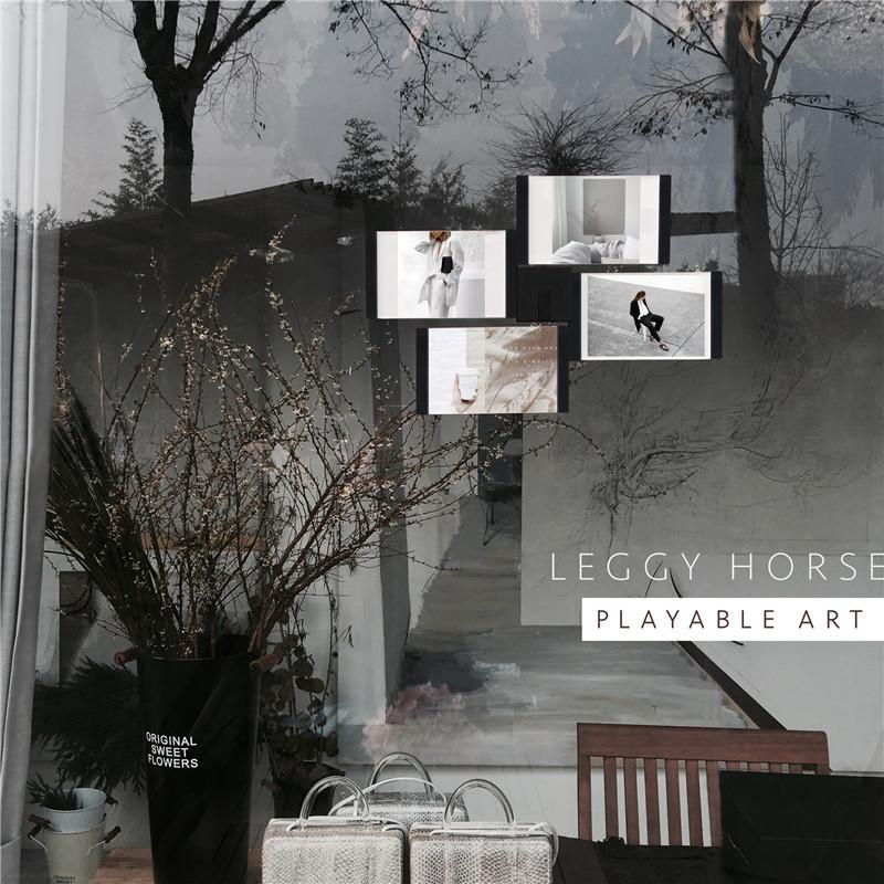 Compre Multi Frame Blanco Negro Diy Marcos De Fotos Decoración Para ...