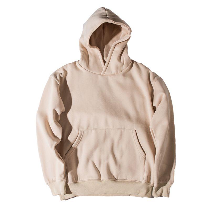 Fleece Material Front Pocket Plain Hoodie Men 2017 Streetwear Men S  Sweatshirts And Hoodies Blank Hoodies 8779OU UK 2019 From Leo1017 42b7ee6cb