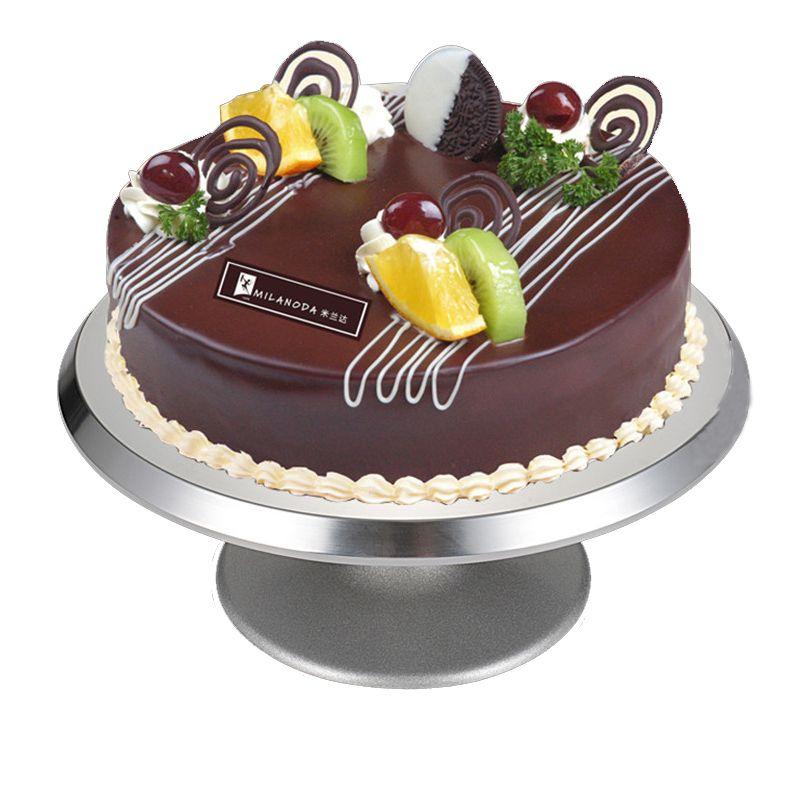2019 cake maker mould turntable platform aluminum alloyed cake