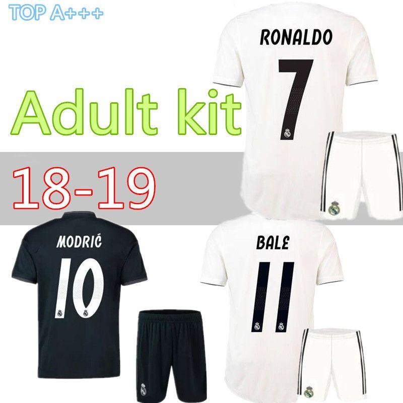 e00eea0ac4b 2019 Adult Kit 18 19 Real Madrid RONALDO Home Away Soccer Jersey 2018 2019  BENZEMA SERGIO RAMOS MORATA ISCO ASENSIO BALE Football Jersey Short From  Cst726