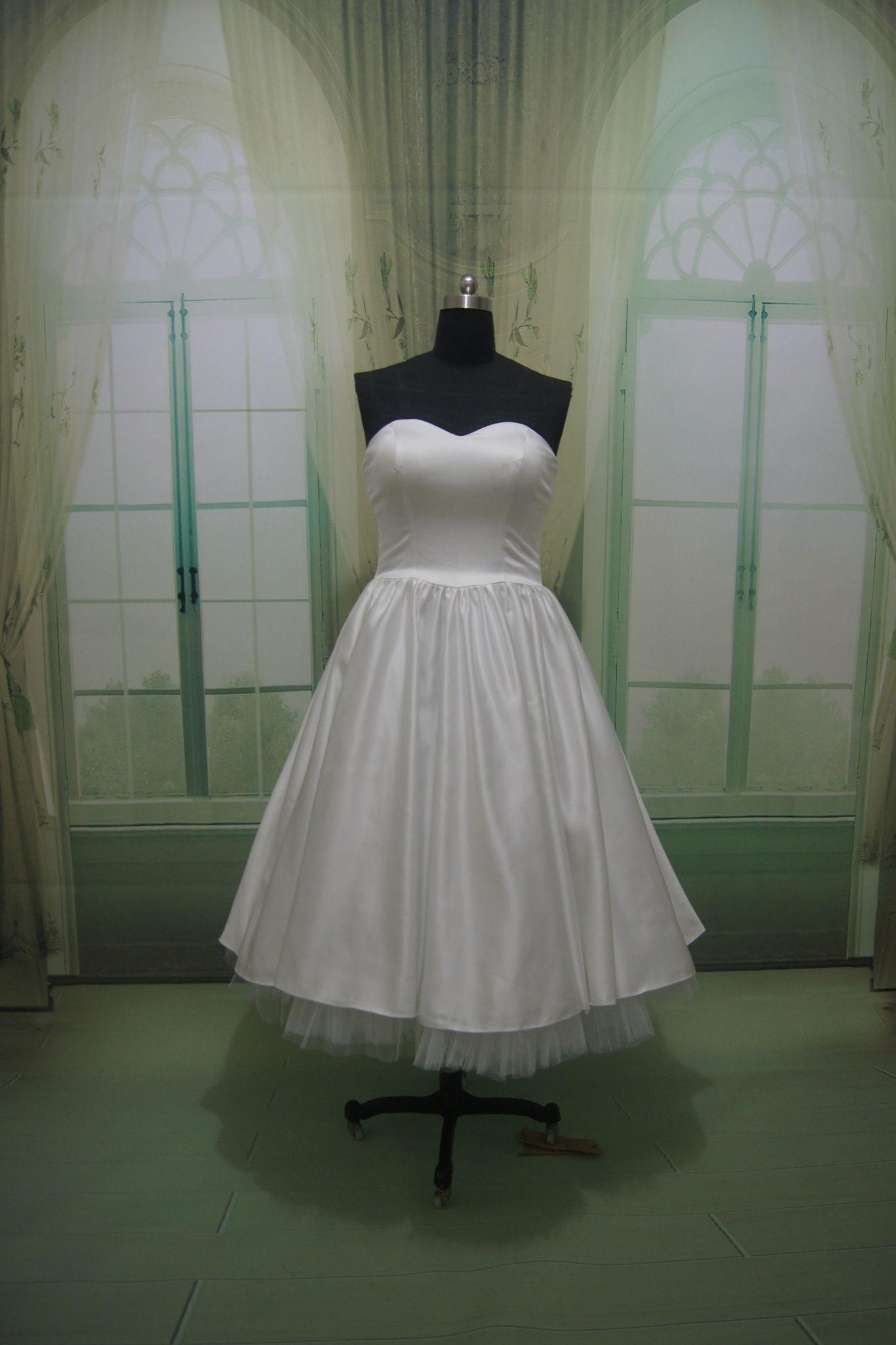 Vestidos de novia rockabilly
