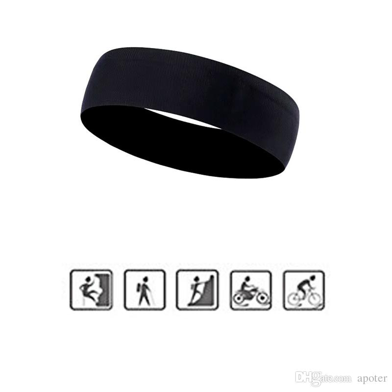 d5ccf05e71c0 Unisex UA Running Anti Skid Headbelt HeadBand Fitness Sports Belt Yoga  Mountain Climbing Riding Black Head Belts Free DHL Pin Pretty Hair  Accessories ...