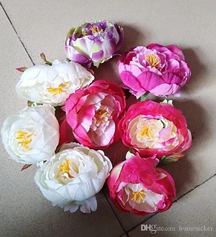 Discount dia 10cm artificial fabric silk peony flower head for discount dia 10cm artificial fabric silk peony flower head for wedding decoration arch flower arrangement diy material supplies from china dhgate mightylinksfo
