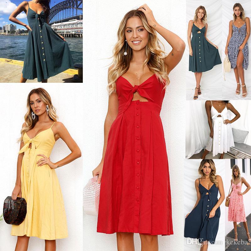 e949179e43 Cheap Foreign Trade Source - Dresses Hot Sale New - Sexy Fashion Strapless  Back Dress - Bow Knee Length Dress 4 Yards