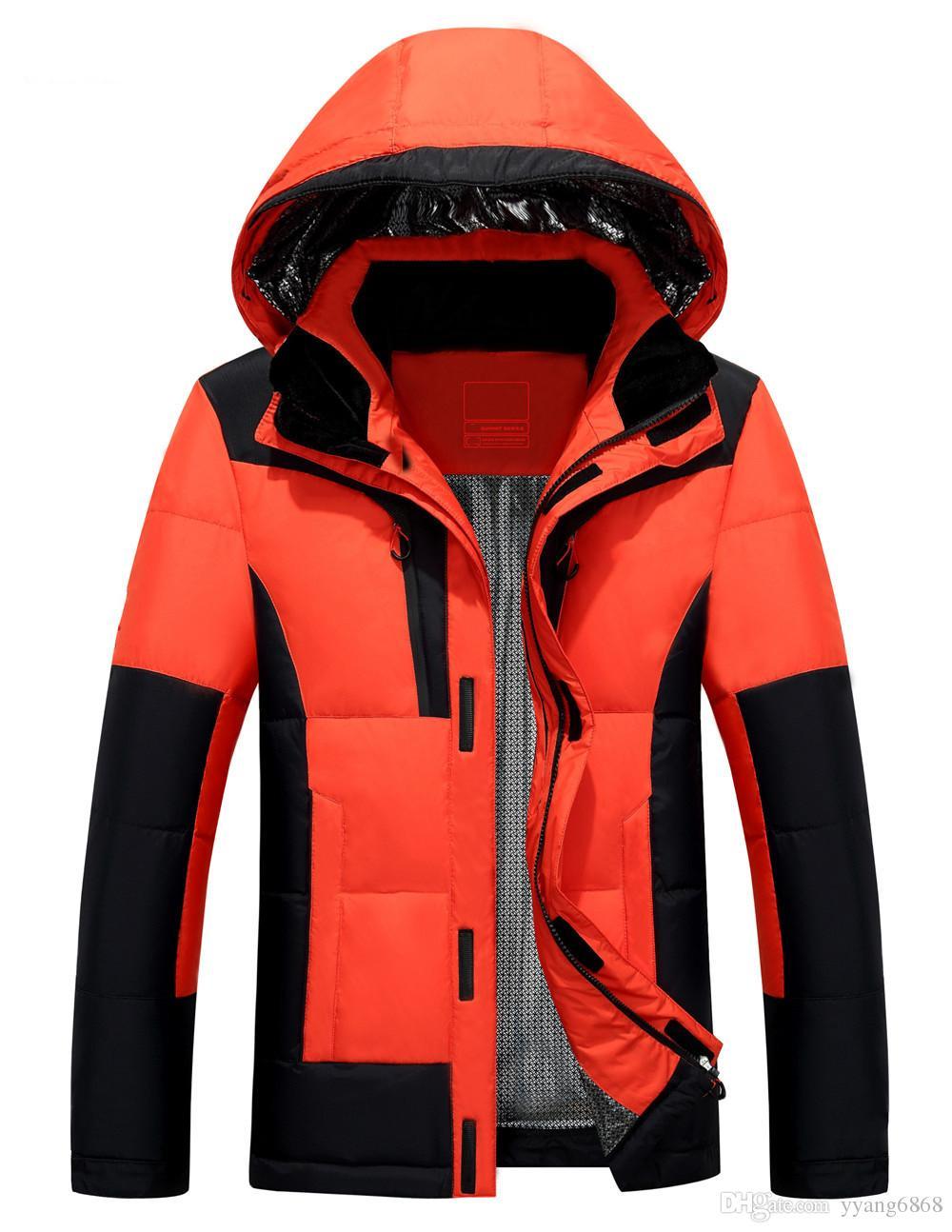 31e8d76c 2018 зима новая мужская открытый короткий пуховик молодежный теплый тонкий  утолщение спортивная куртка