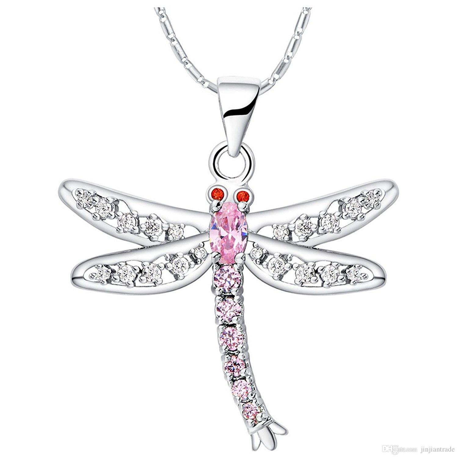 necklace jewellery silver image giant dragonfly products rocks sterling dandy