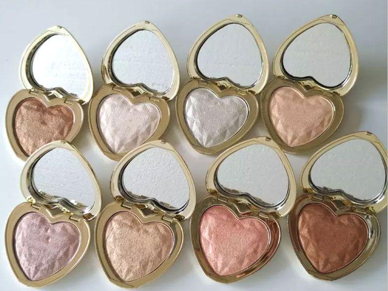 T00Faced Love Light Prismatic Highlighter Makeup Bronzers Golden Scintillation illuminator Eye shadow Good Quality