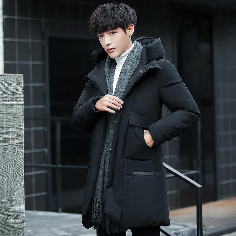 c0803b6aa2 2019 High Quality Parka Men Winter Long Jacket Men Thick Cotton Padded  Jacket Mens Parka Coat Male Fashion Casual Coats XXXL From Candd, $105.99 |  DHgate.