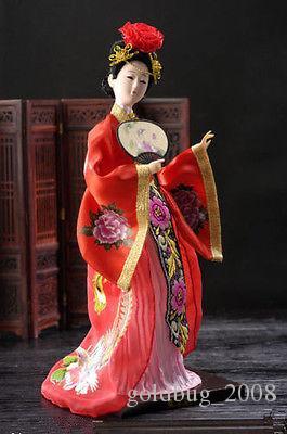 Collectibles neue Oriental Broider Puppe, chinesische alten Stil Figur China Puppe Figuren Statuen