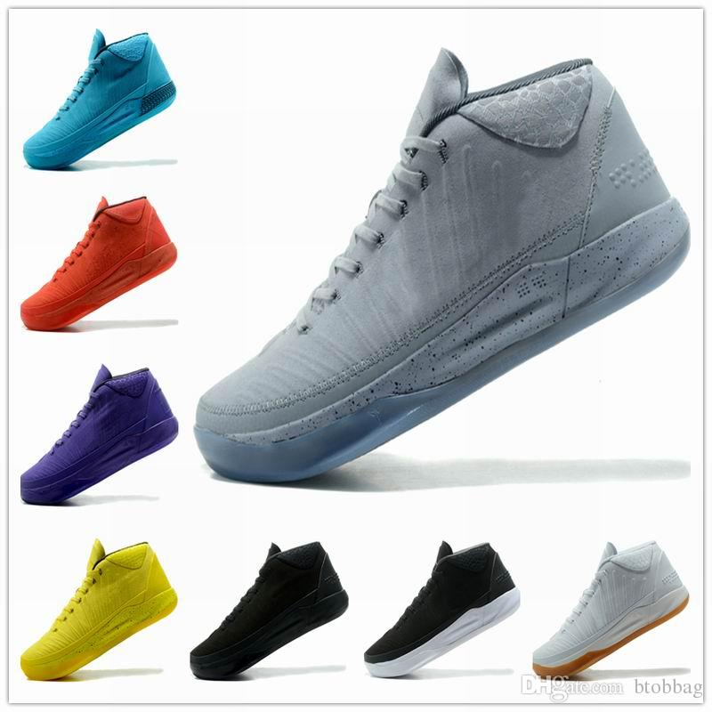 47d236c2a5676a Kobe 13 A.D EP Basketball Shoes AD Mid Fearless Kobes Xii Elite Sports KB  12s Elite Low Sports Trainers Sneakers 2018 Online Shoes Cheap Shoes From  Btobbag