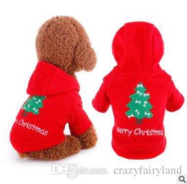 2019 Dog Christmas Costumes Pet Dog Hoodies Clothes Fall Winter Dog Xmas  Festival Clothes Coat For Small Dogs Clothing Chihuahua Puppy Outfits From  ... - 2019 Dog Christmas Costumes Pet Dog Hoodies Clothes Fall Winter Dog