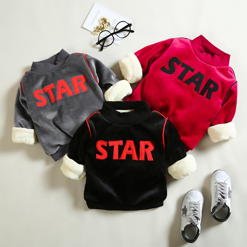 f4a525acf ExactlyFZ Baby Boys Sweatshirts Winter Warm Infant Thick Clothing ...