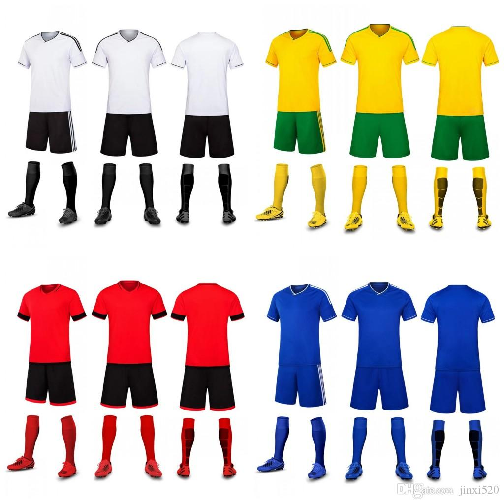 Customized Soccer Team 2018 New Soccer Jerseys Setswholesale Tops