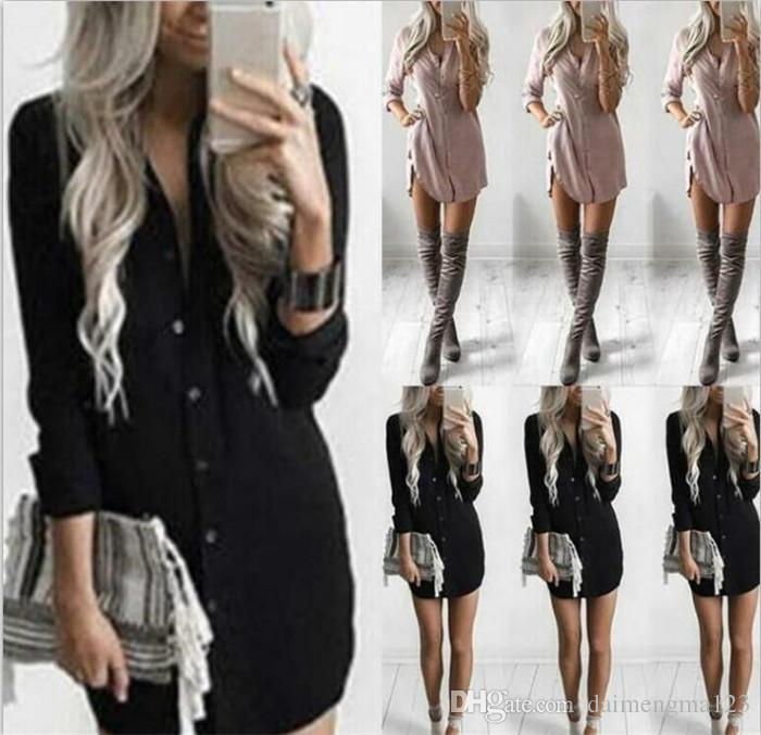 828914dee Plus Size Womens Blouses Long Sleeve Body Shirt Women Shirts Tops ...