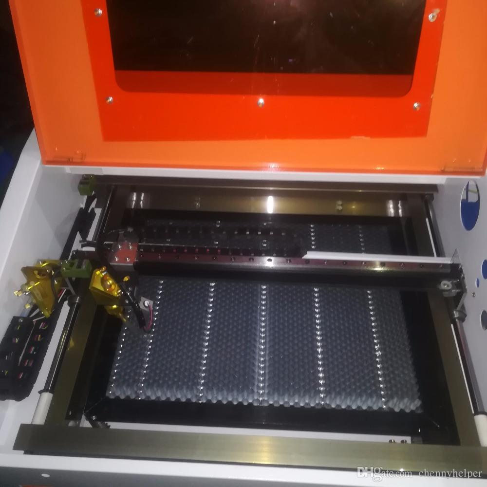 4040 50W عالية الجودة آلة القطع بالليزر، آلة الحفر 400x400mm 50W الليزر للخشب