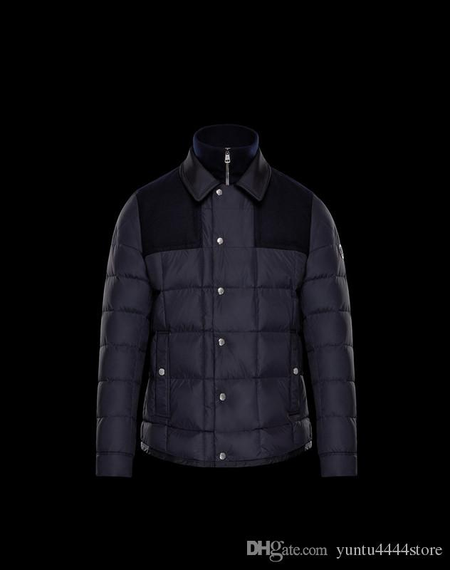 Famous male paekas male clothing catton down jacket to keep warm , men outerwear show fashion style eight sizes