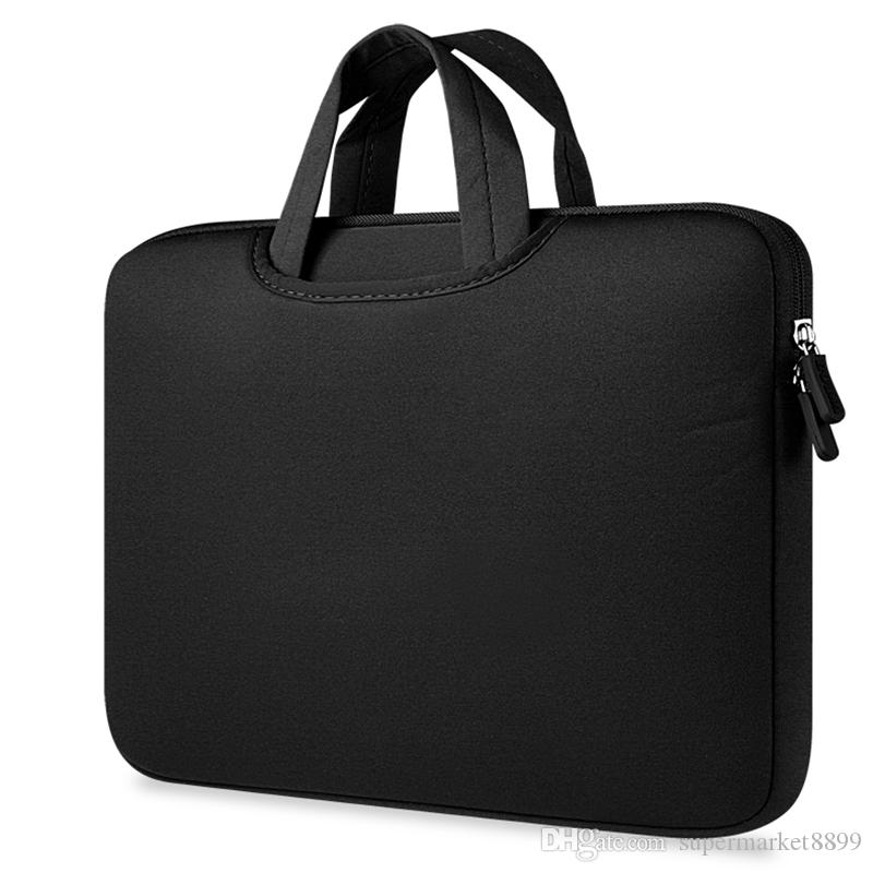 4b474f4a85900 Compre Bolsa De Laptop Forro 11 12 13 15 15.6 Polegada Para Macbook Air Pro  Retina Saco Do Computador Case Capa 15.6 Polegada Notebook De  Supermarket8899