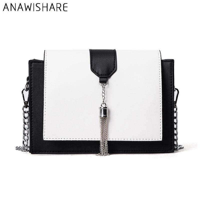 01ab84d752d ANAWISHARE Tasse Crossbody Bags For Women Messenger Bags Leather Chains Shoulder  Bag Designer Handbag Bolsa Feminina Bolsos Muje Crossbody Bags for Women ...