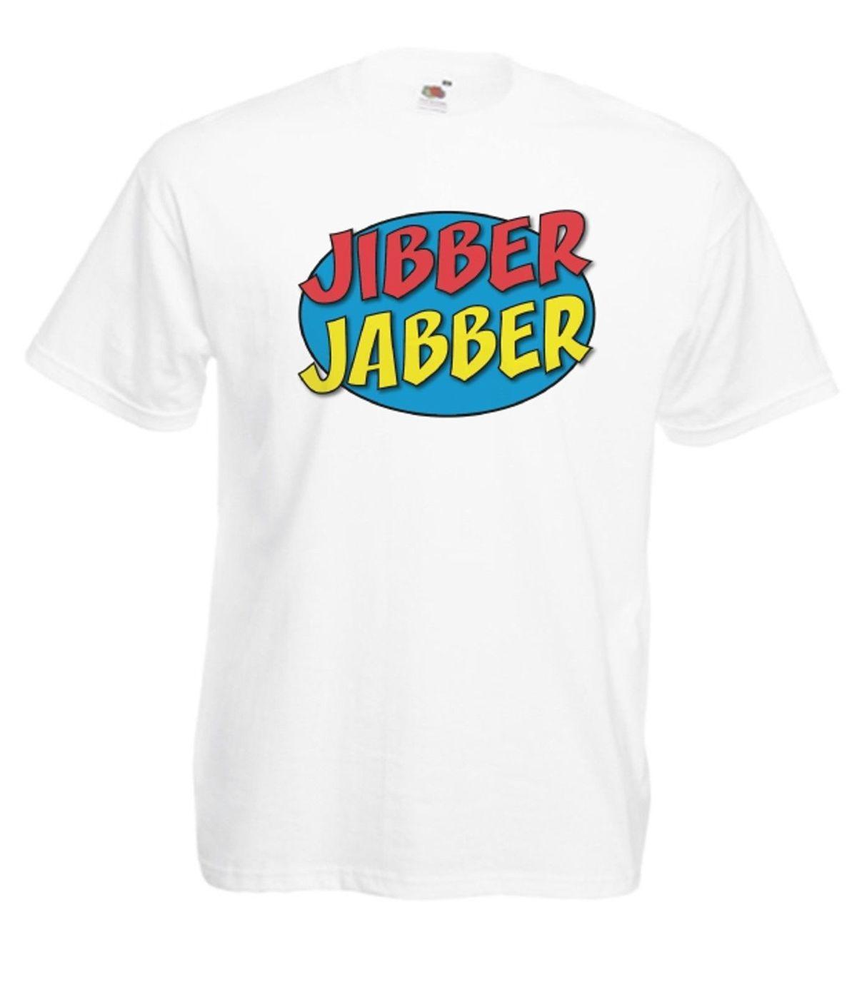 Neue Geschenkideen Weihnachten.Jibber Jabber Herr T Lustig Neue Weihnachten Geburtstag Geschenkideen Mens Womens Männer Sommer T Shirt