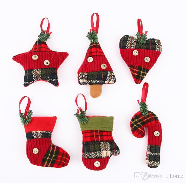 2019 new christmas ornaments gift santa claus snowman reindeer toy doll hang decorations christmas tree pendant unique christmas decorations for sale unique