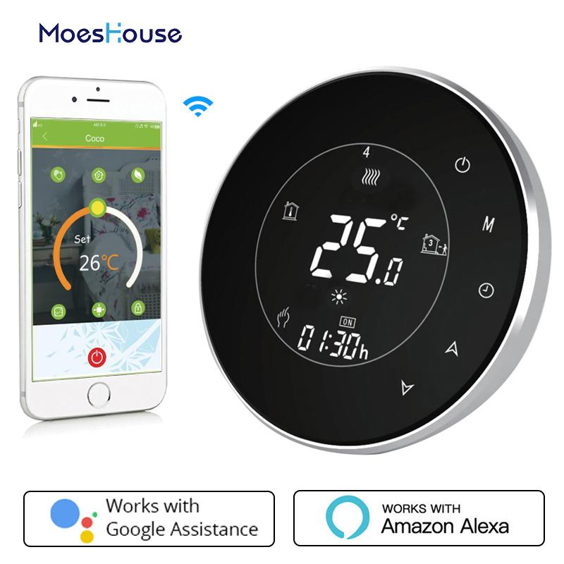 Smart Thermostat Wifi Water Gas Boiler Backlight 3a Weekly