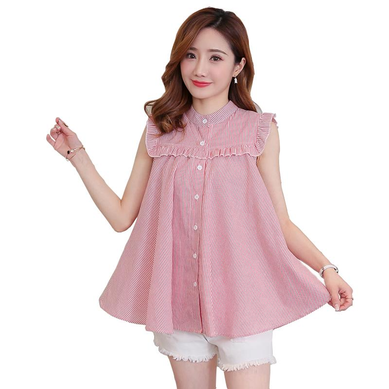 07be49fe39a Sweet Maternity Tank Tops Summer Fashion Lovely A Line Loose Clothes ...