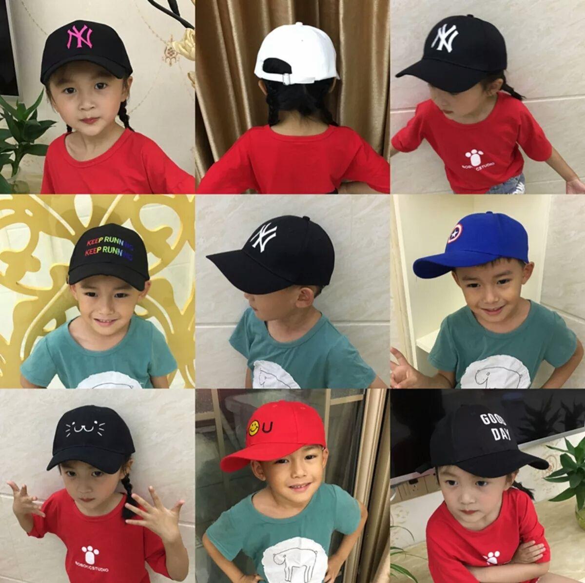 Compre Versão Coreana De Bonés De Beisebol Infantil 85b3c38101d