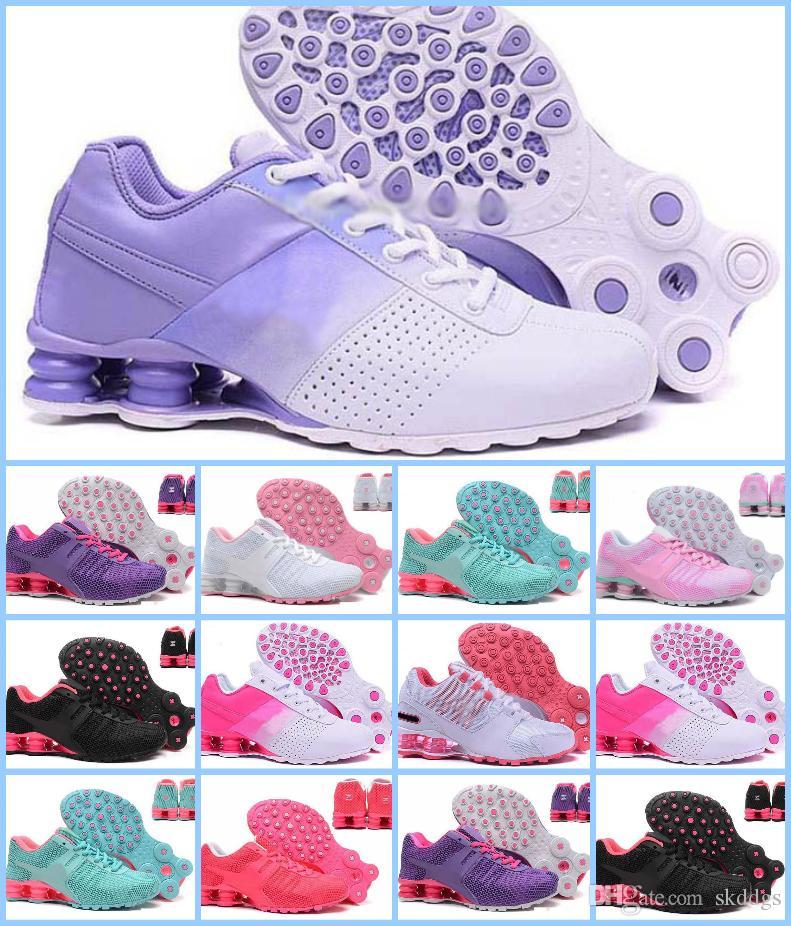 hot sale online 222ea 0e659 Acheter 2018 ShOX NZ RunnING ShOes Pas Cher Original Blanc Noir Shox NZ OZ  Chaussures De Sport En Dentelle Sport Shox TURBO 21 Hommes Femmes Chaussures  De ...